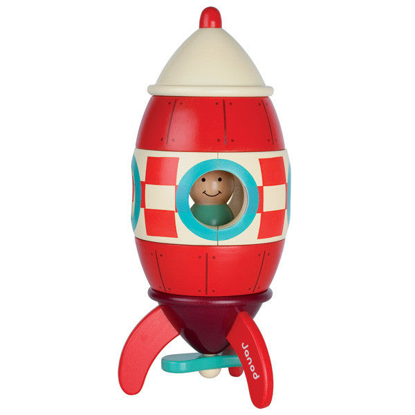 Janod Magnetic rocket Toy