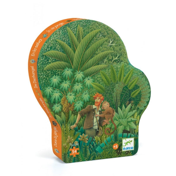 Djeco Silhouette puzzle - In the Jungle
