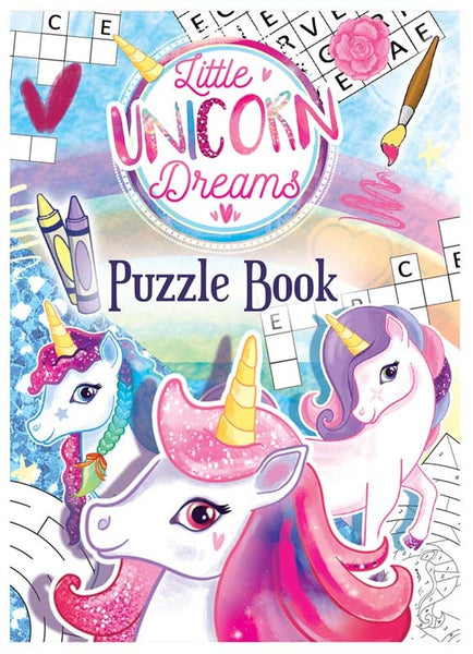 Little Unicorn Dreams Puzzle Book