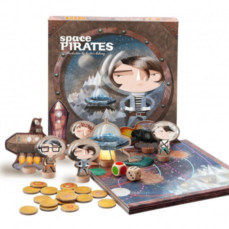 Space pirates- board game