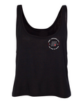 DAY 1 Black Crop Tank