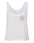 DAY 1 White Crop Tank