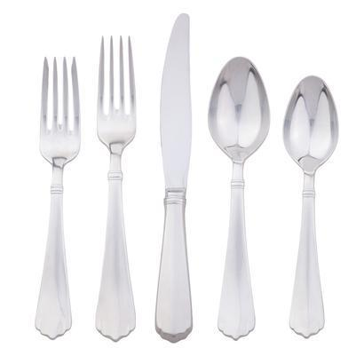 5 piece place setting - Kensington - Bright Satin