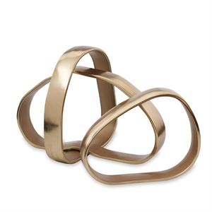 Sierra Modern Rings Centerpiece Gold