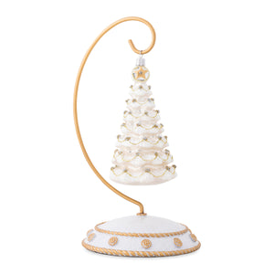 Berry & Thread Silver/Gold Tree Glass Ornament