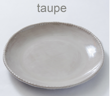 Load image into Gallery viewer, Scallop Serving Bowl Taupe