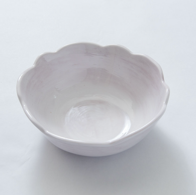Scallop Soup/Cereal Bowl White