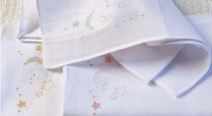 Burp Cloths Galaxy - Grey