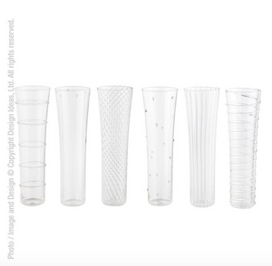 LIVENZA FLUTE GLASSES - Set of 6