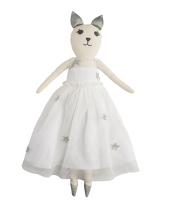 Miss Cathy Cat Party Doll