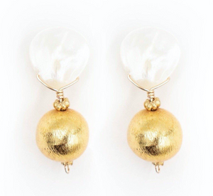 CLAIRE EARRING, GOLD