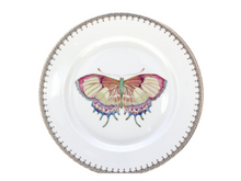 Load image into Gallery viewer, GOLDEN TEARDROP BUTTERFLY DESSERT PLATE