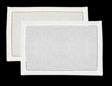 Linen Hemstitch Placemat