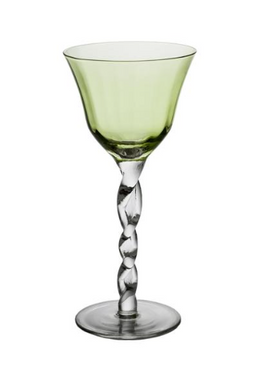Wine Glass, Green