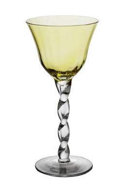Wine Glass, Yellow