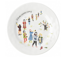 Load image into Gallery viewer, Twelve Days of Christmas Dessert/Salad Plate Set/12