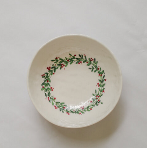 Christmas Soup/Cereal Bowl