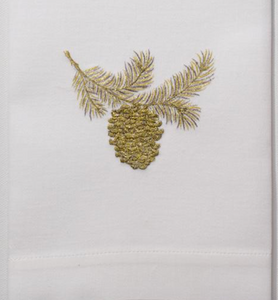 Hand Towel - Pinecone Bough