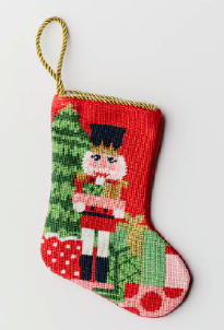 Nutcracker Bauble Stocking