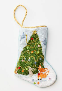 Woodland Creatures Bauble Stocking