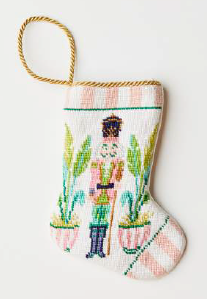 Beverly Hills Nutcracker Bauble Stocking