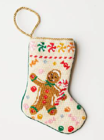 Making Spirits Bright Bauble Stocking by Leslie Bicksler