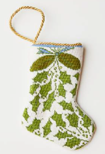 Deck the Halls Bauble Stocking by Dixie Designs