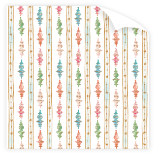 Finial Ornaments Wrapping Paper Roll