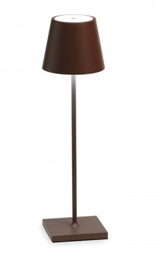 Table Lamp - Rust