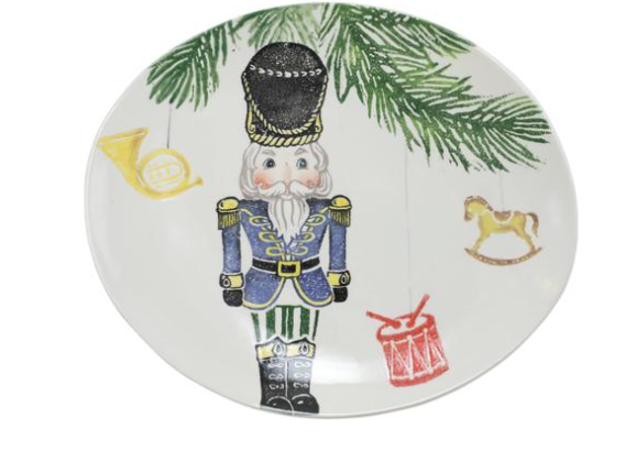 Nutcrackers Medium Oval Platter