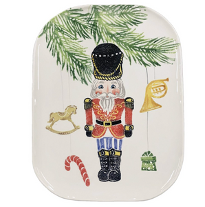 Nutcrackers Medium Rectangular Platter