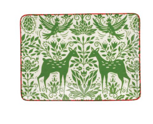 Mistletoe Small Rectangular Platter