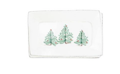 Lastra Holiday Small Rectangular Tray