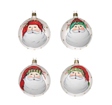 Old St. Nick Ornaments, Assorted