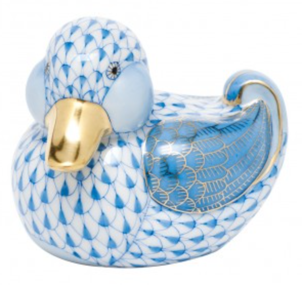 Dapper Ducky - Blue