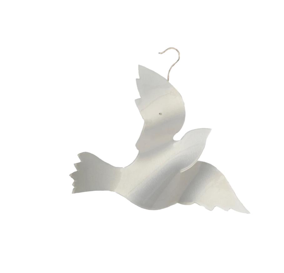 Dove Large Acrylic Ornament