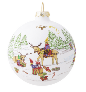 "North Pole Reindeer 3""  Ornament"