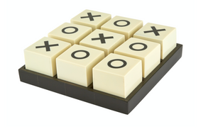 Tic Tac Toe Game Set - Black