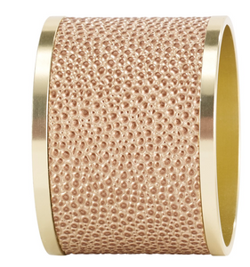 Skate Rose Gold Napkin Ring Set of 4