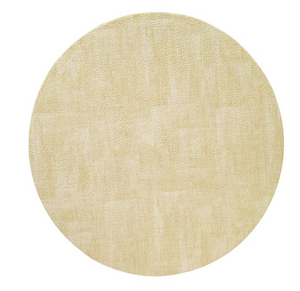 "Luster Gold 16"" Round Mats Set of 4"