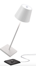 Load image into Gallery viewer, Rechargeable Table Lamp - White