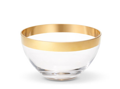 Gabriel Large Crystal Bowl
