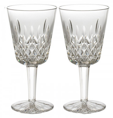 Lismore Goblet 9 oz Set/2