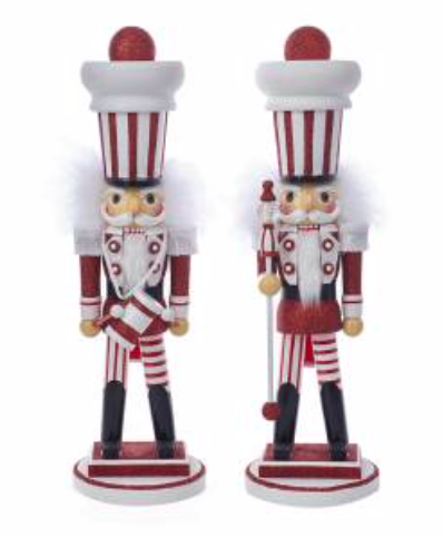 Red and White Nutcracker Soldiers