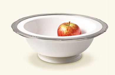 Viviana Round Footed Serving Bowl, Large