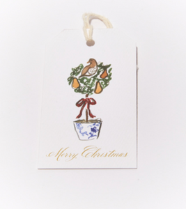 Partridge and Pear Gift Tag Set