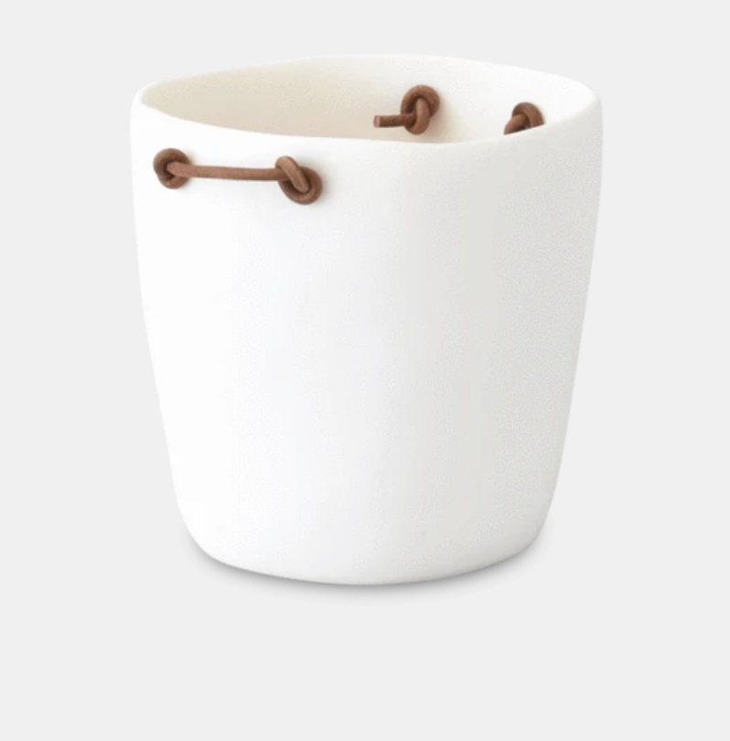 Champagne Bucket With Leather Handles