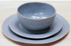 "Round Side Plate, Classic 8.5"" in Periwinkle"