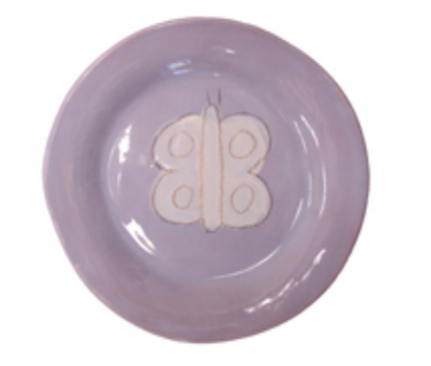 Dish Set Lavender w/ Butterfly