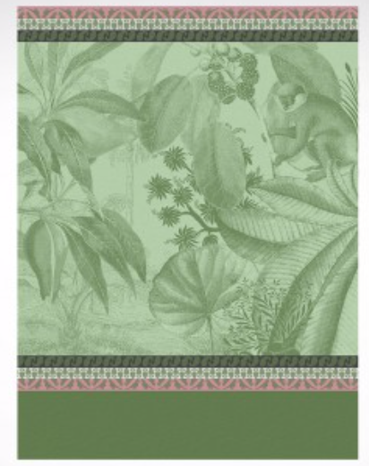 Voyage Au Kerala Forest Tea-Towel